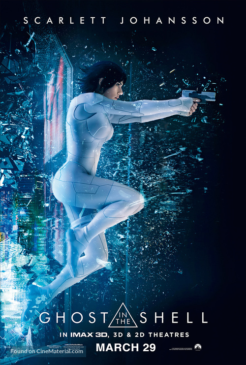 Ghost in the Shell - Philippine Movie Poster