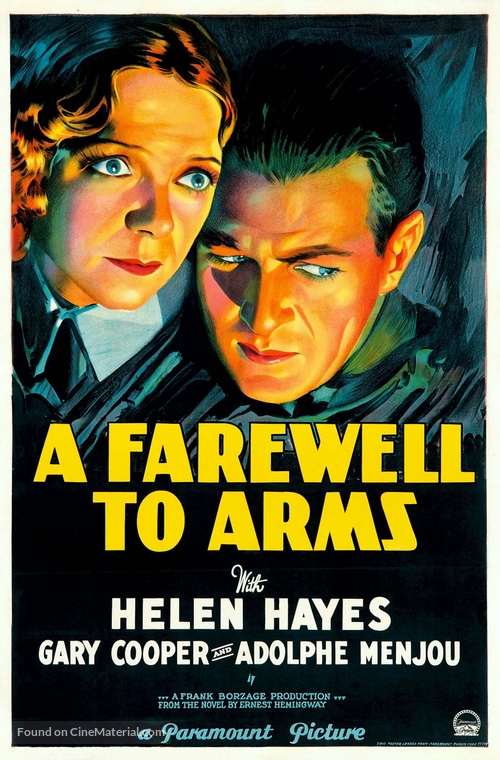 A Farewell to Arms - Movie Poster