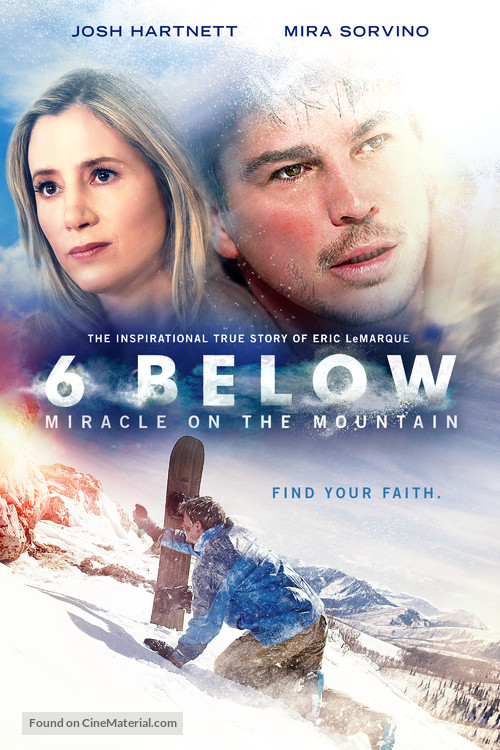 6 Below: Miracle on the Mountain - Movie Cover