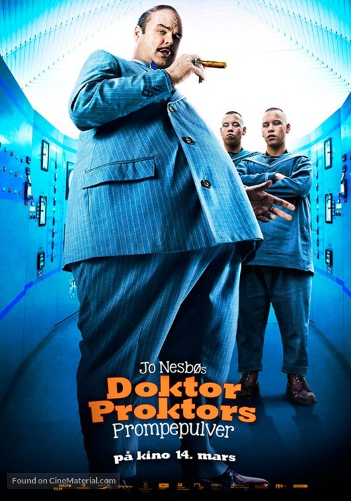 Doktor Proktors prompepulver - Norwegian Movie Poster