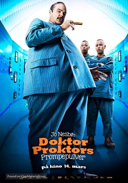 Doktor Proktors prompepulver - Norwegian Movie Poster