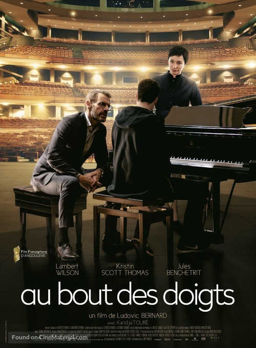 Au bout des doigts - French Movie Poster