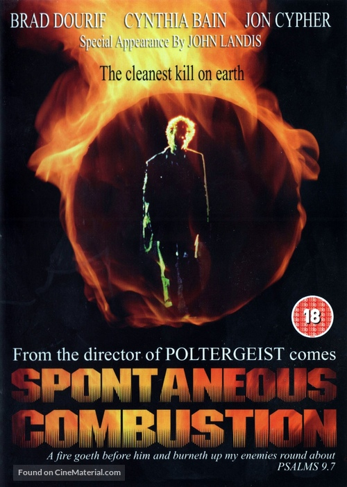 Spontaneous Combustion - British DVD movie cover