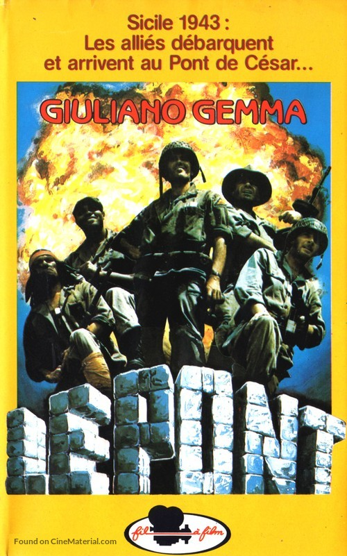 Ciao nemico - French VHS movie cover