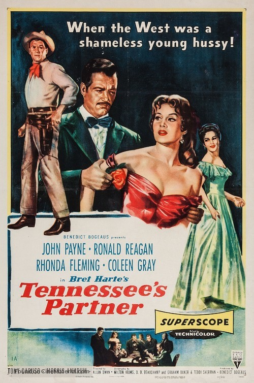 Tennessee's Partner - Movie Poster