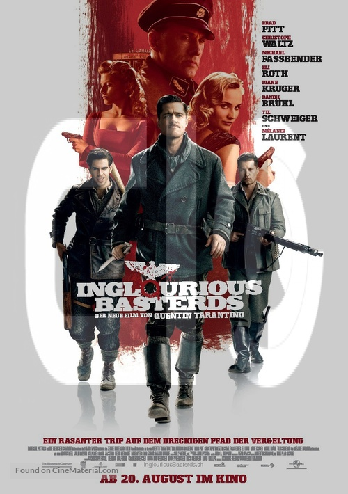 Inglourious Basterds - Swiss Movie Poster