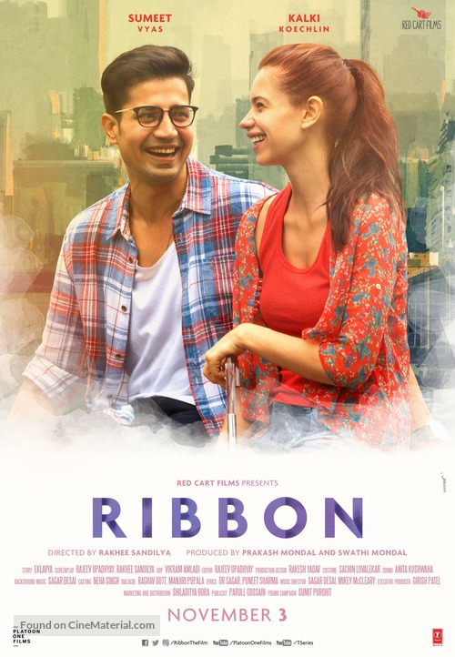 Ribbon - Indian Movie Poster