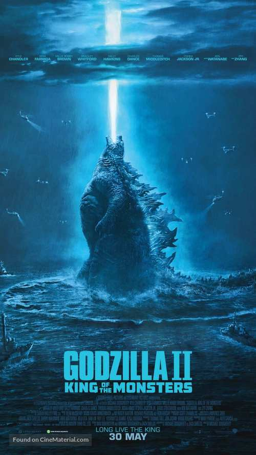 Godzilla: King of the Monsters - Singaporean Movie Poster
