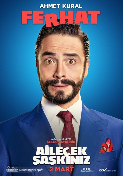 Ailecek Saskiniz - Turkish Movie Poster
