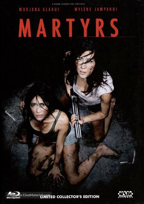 Martyrs - Austrian Blu-Ray cover
