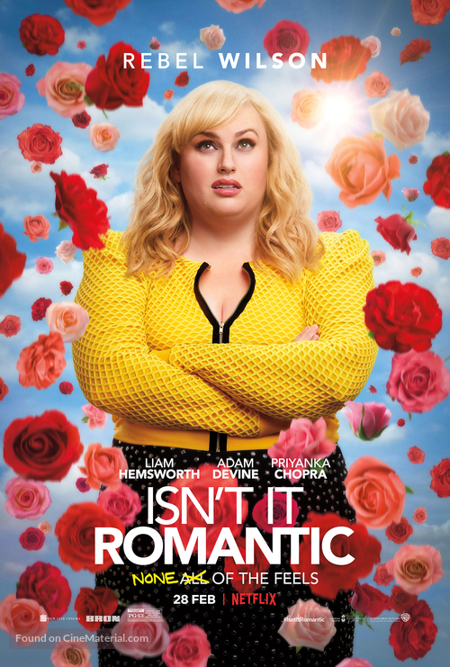 Isn't It Romantic - British Movie Poster