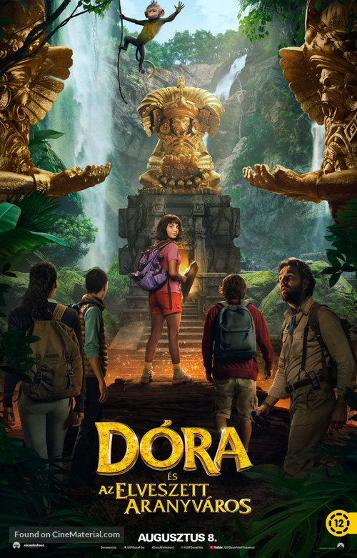 Dora and the Lost City of Gold - Hungarian Movie Poster