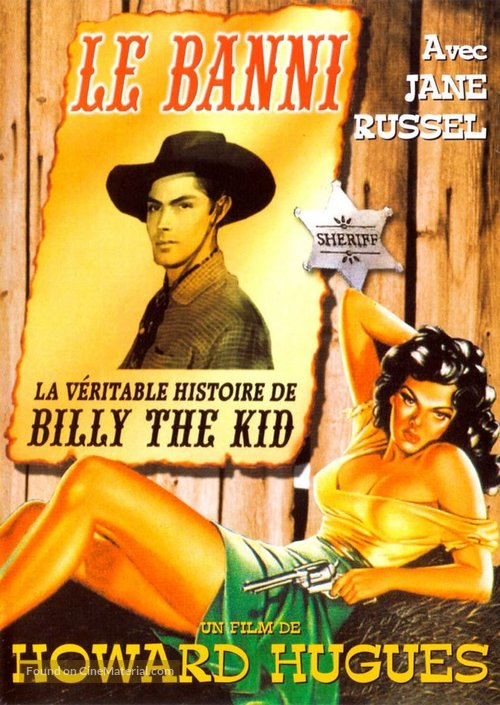 The Outlaw - French DVD movie cover
