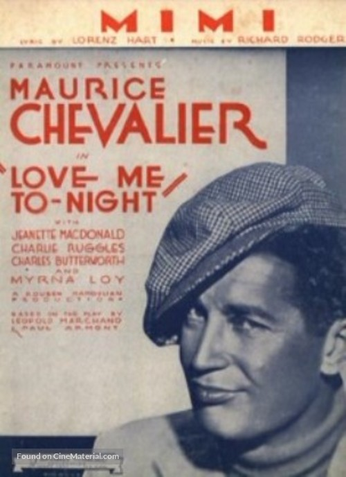 Love Me Tonight - Movie Poster