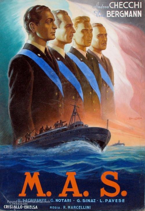 M.A.S. - Italian Movie Poster