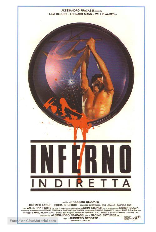 Cut and Run - Italian Movie Poster