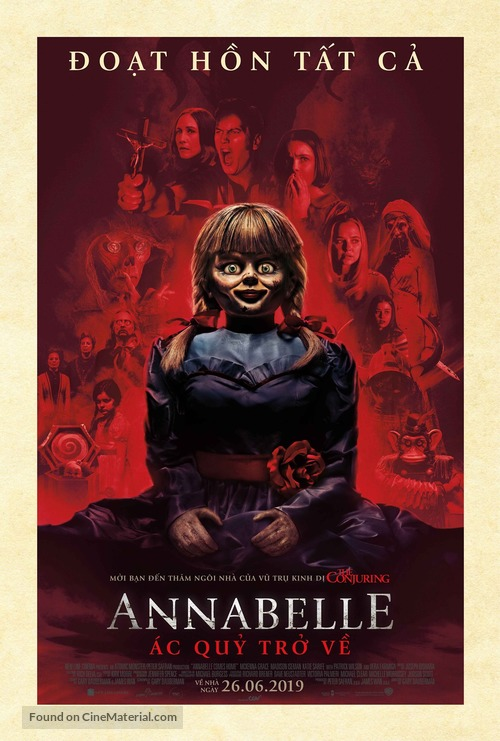 Annabelle Comes Home - Vietnamese Movie Poster
