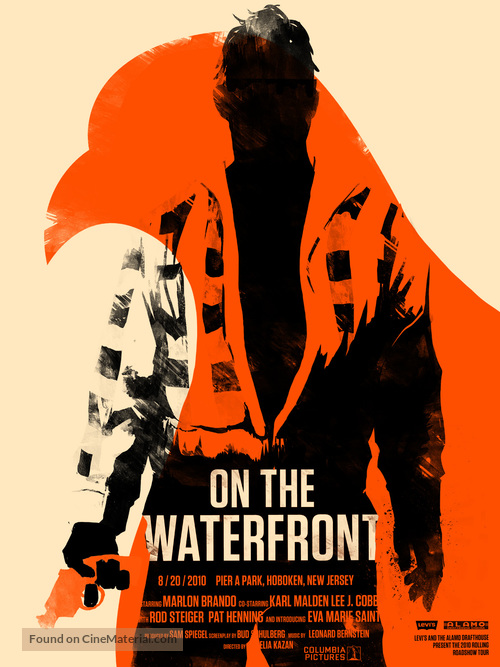 On the Waterfront - Homage movie poster