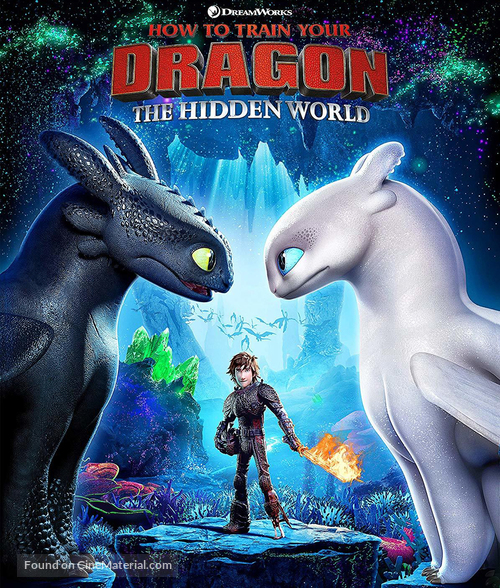 How to Train Your Dragon: The Hidden World - Brazilian Movie Cover