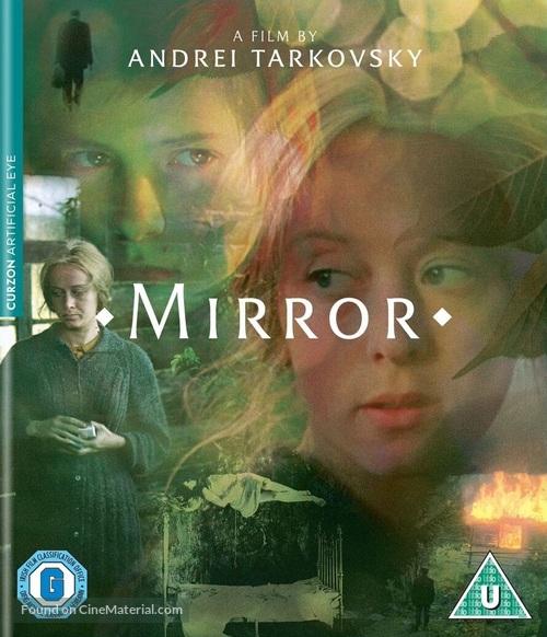 The Mirror - British Blu-Ray movie cover