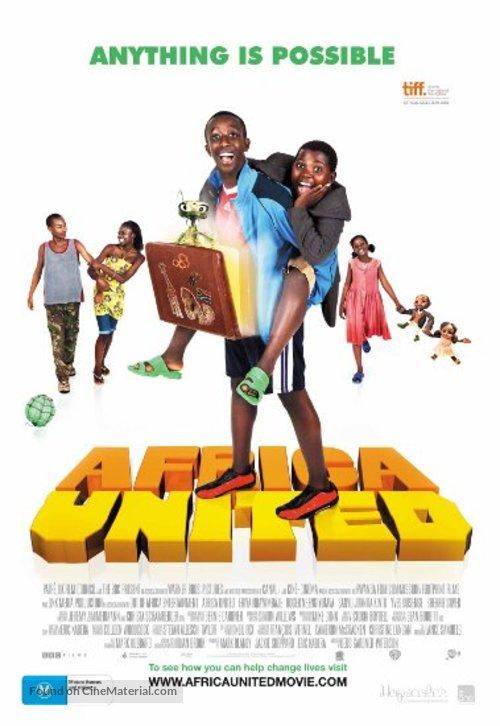 Africa United - Australian Movie Poster
