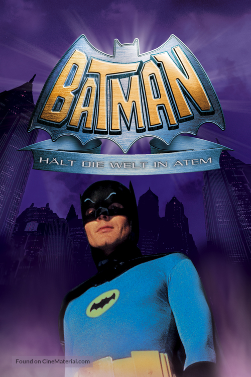 Batman - German DVD movie cover