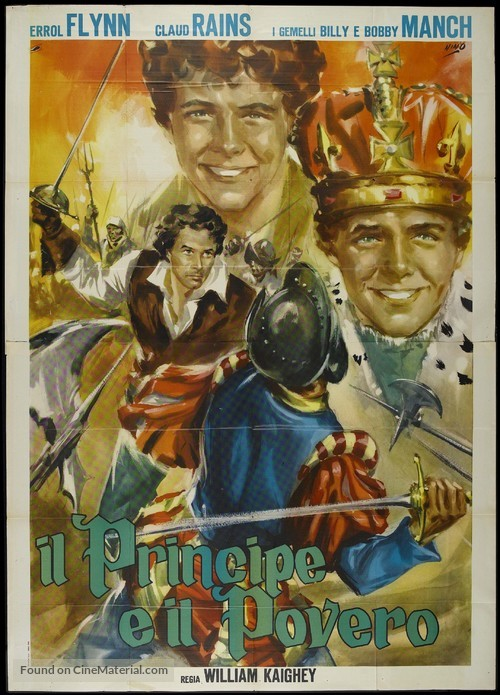 The Prince and the Pauper - Italian Movie Poster