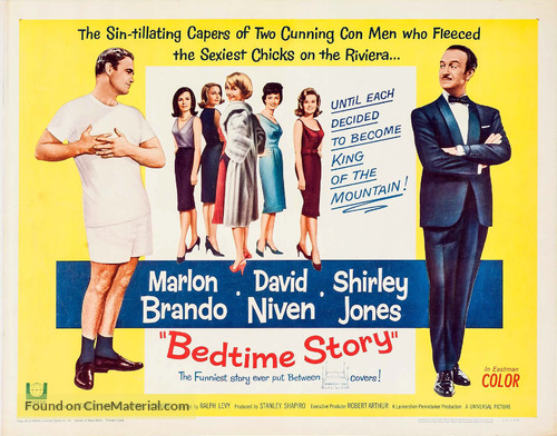 Bedtime Story - Movie Poster