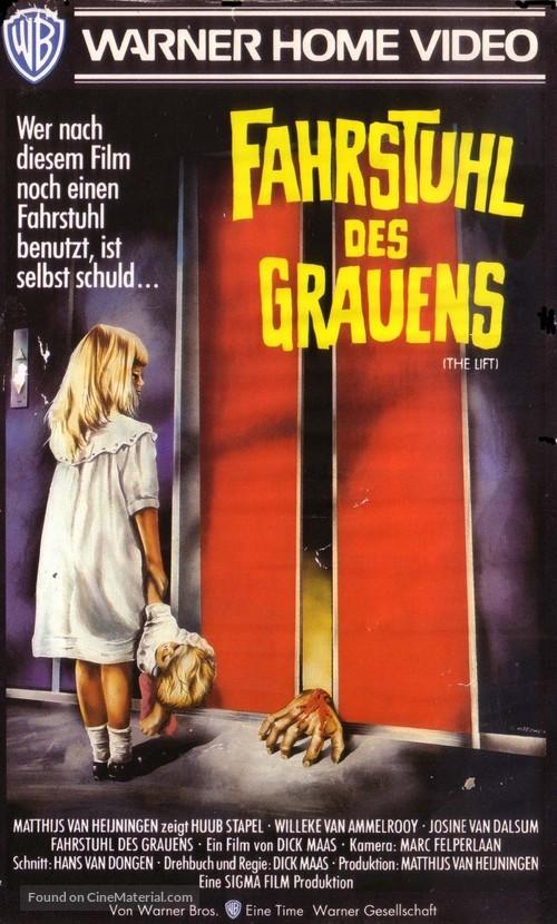 De lift - German VHS cover