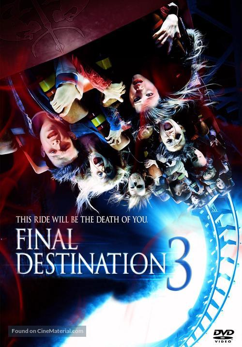 Final Destination 3 - DVD movie cover