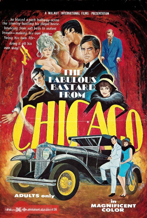 The Fabulous Bastard from Chicago - Movie Poster