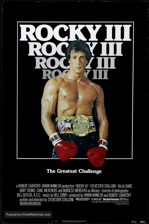 Rocky III - Movie Poster