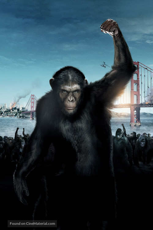 Rise of the Planet of the Apes - Key art
