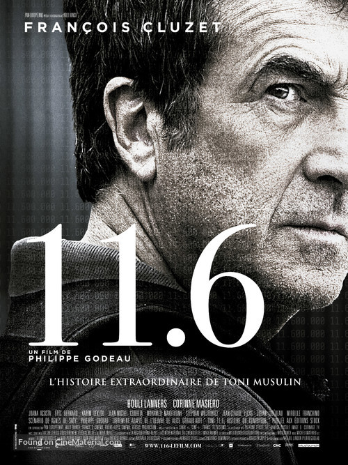 11.6 - French Movie Poster