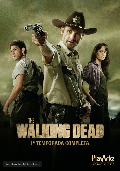 """""""The Walking Dead"""" - Spanish Movie Cover"""