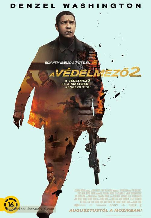 The Equalizer 2 - Hungarian Movie Poster