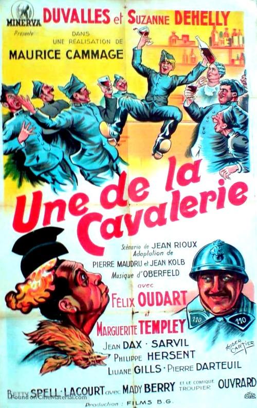 Une de la cavalerie - French Movie Poster
