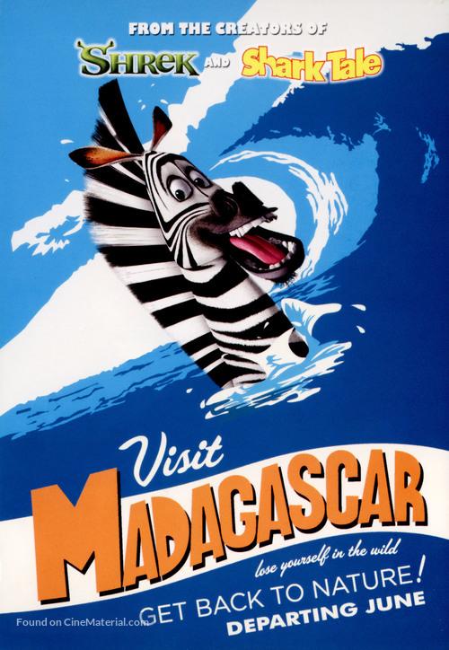 Madagascar - Movie Poster