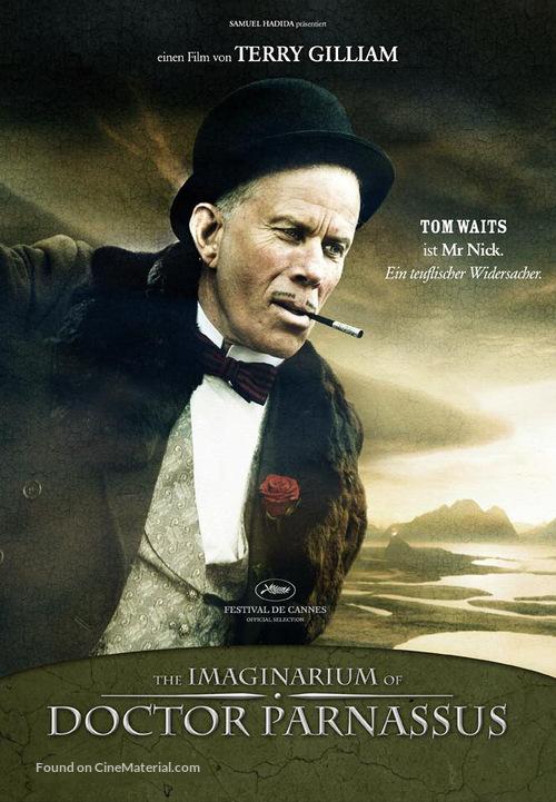 The Imaginarium of Doctor Parnassus - German Movie Poster
