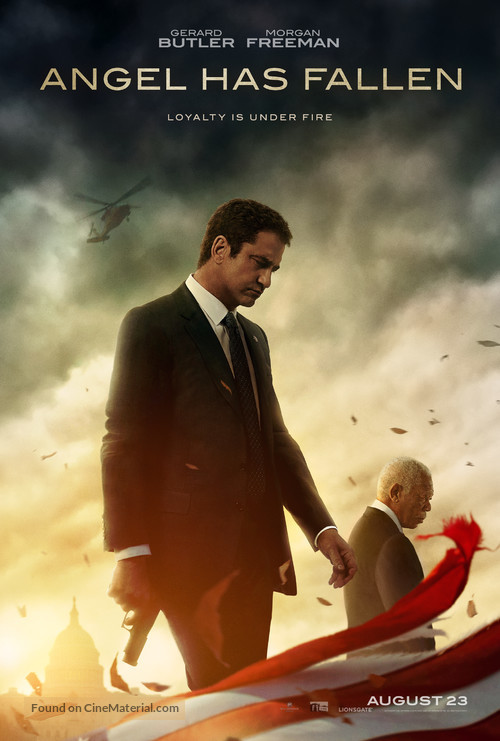 Angel Has Fallen - Teaser movie poster