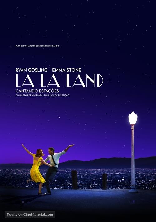 La La Land - Brazilian Movie Poster