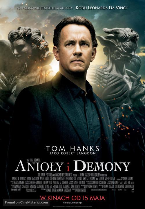 Angels & Demons - Polish Movie Poster