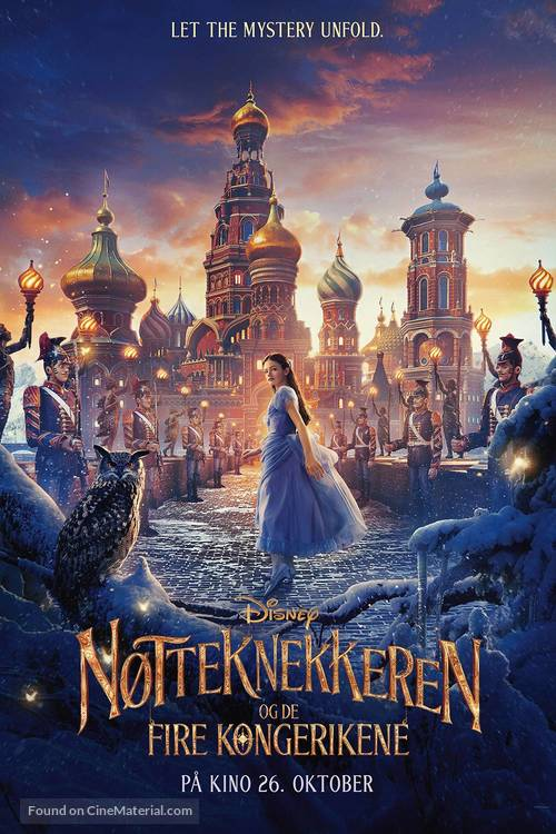 The Nutcracker and the Four Realms - Norwegian Movie Poster