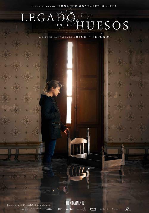 Legado en los huesos - Spanish Movie Poster