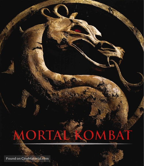 Mortal Kombat - Blu-Ray cover