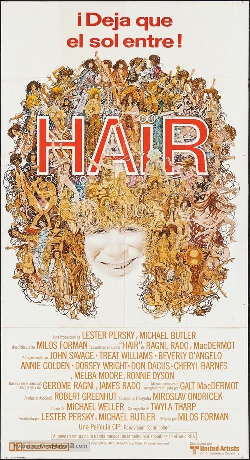 Hair - Spanish Movie Poster