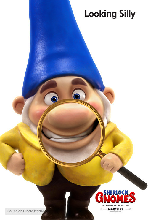 Sherlock Gnomes - Movie Poster