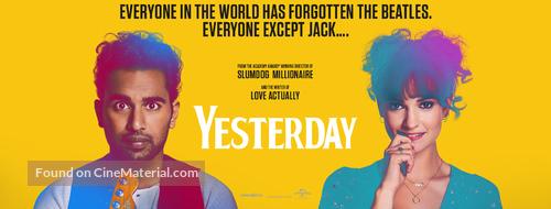 Yesterday - Norwegian Movie Poster