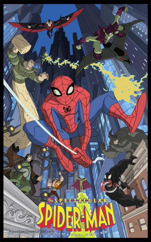 """""""The Spectacular Spider-Man"""" - Movie Poster"""
