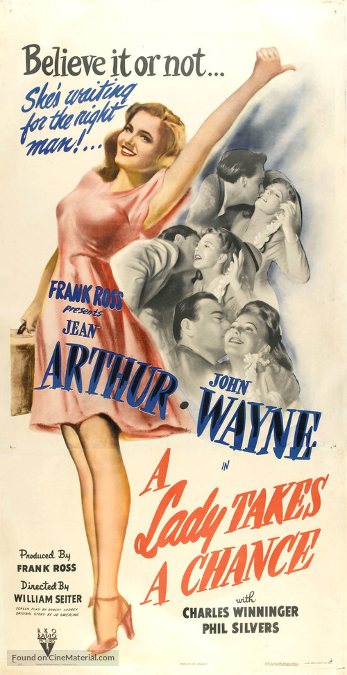 Image result for The Lady Takes a Chance 1943